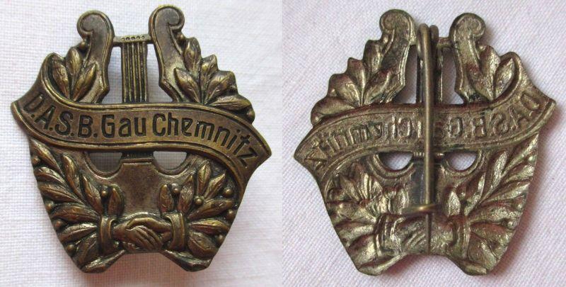 Abzeichen Gesangsverein Deutscher Arbeiter Sportbund Gau Chemnitz (108761)