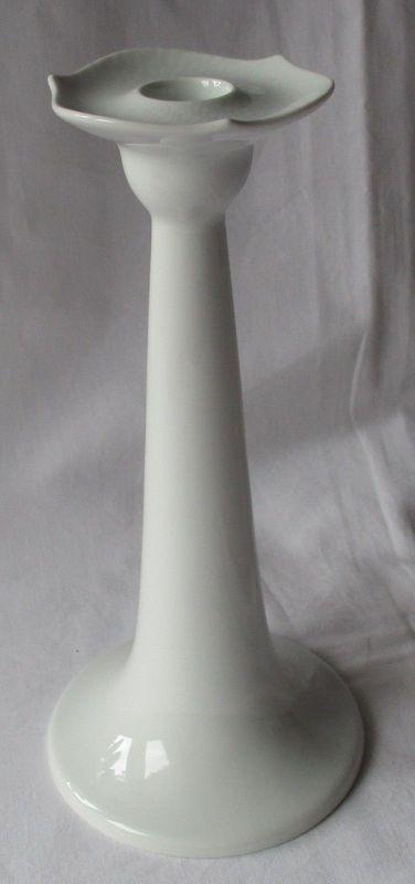 Original MEISSEN Porzellan Weiß Leuchter