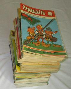 Mosaik Abrafaxe 1/1976 bis 252/1996 komplett 252 Hefte (125068)