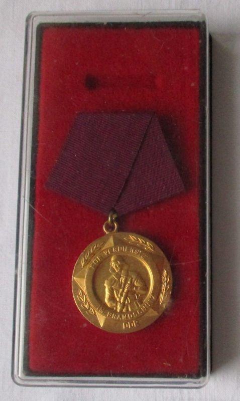 Medaille für Verdienste im Brandschutz im Etui (125390)