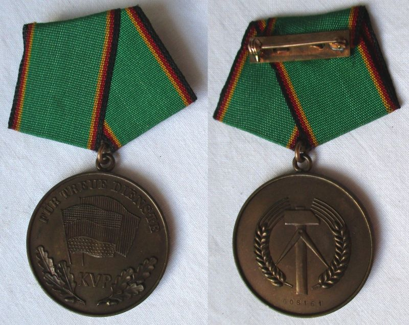 Medaille für treue Dienste in der kasernierten Volkspolizei (125730)