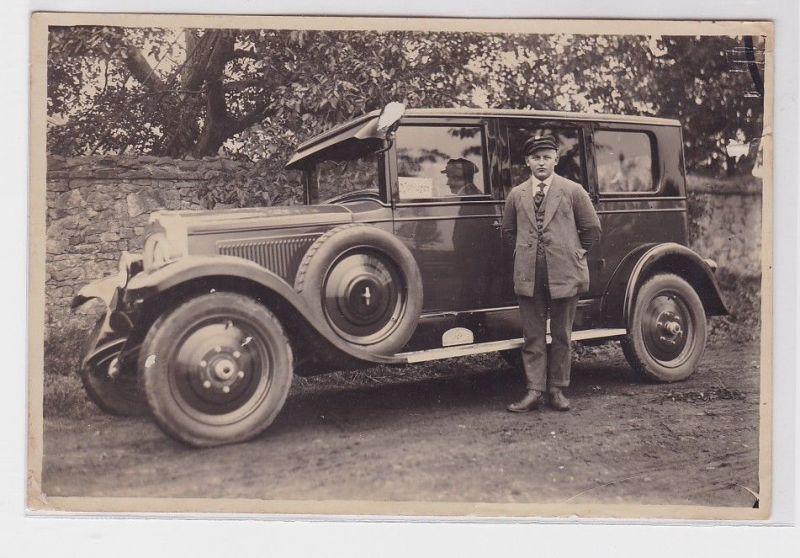 69846 Original Foto Automobil Marke Opel um 1930