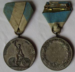 Medaille Radfahrerverein Hayna 1923, Langsamfahrt