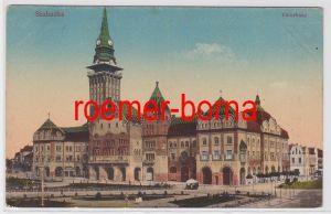 82975 Ak Szabadka Subotica Serbien Városháza um 1910