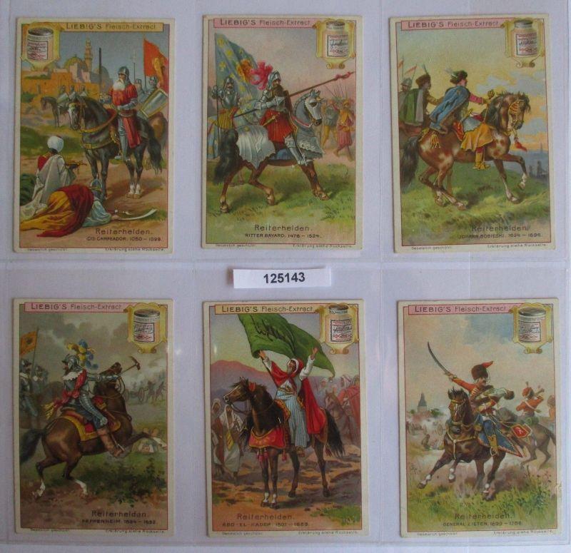 B125143 Liebigbilder Serie Nr. 541 Reiterhelden 1902