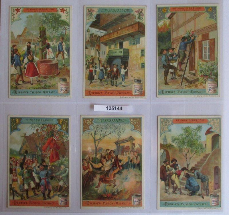 B125144 Liebigbilder Serie Nr. 540 Pfingstgebräuche 1902