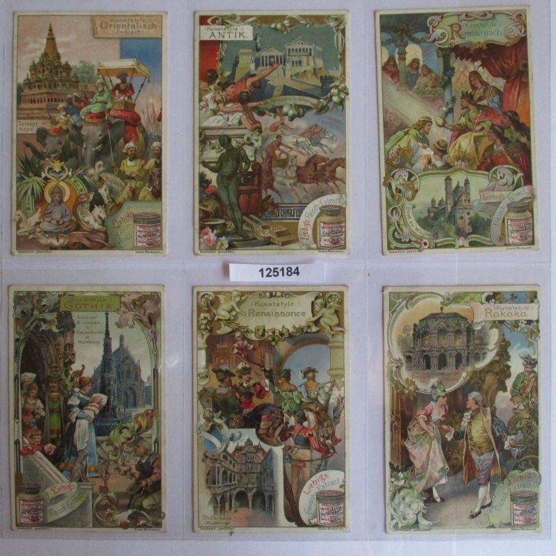 B125184 Liebigbilder Serie Nr. 538 Kunststile (Kunststyle) 1902