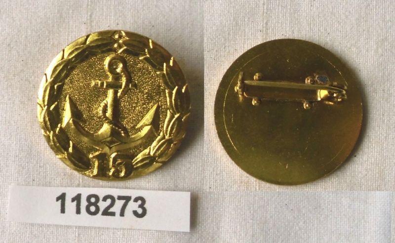 DDR Abzeichen für treue Dienste in der Binnenschifffahrt für 15 Jahre (118273)
