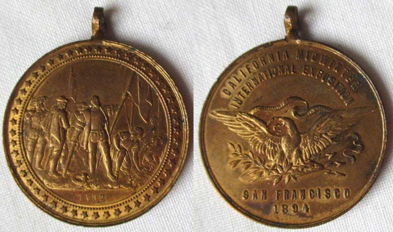 Medaille California Midwinter International Exposition San Francisco (101386)