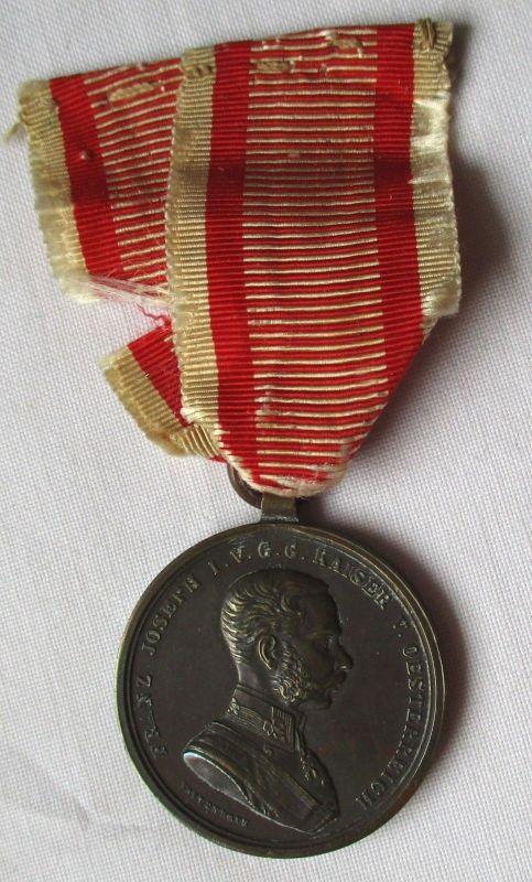 ORIGINAL Tapferkeits Medaille Österreich I.WK Kaiser Joseph um 1917 (106814)