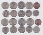 10 DDR Gedenkmünzen 5, 10 und 20 Mark Pieck, Grotewohl  usw. (123039)