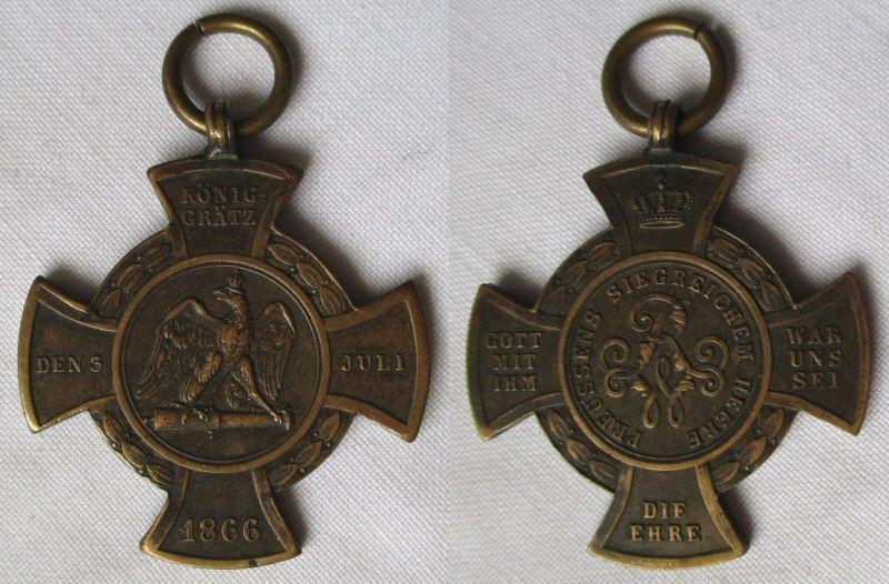 Preussen Erinnerungskreuz Königsgrätz 1866 (115394)