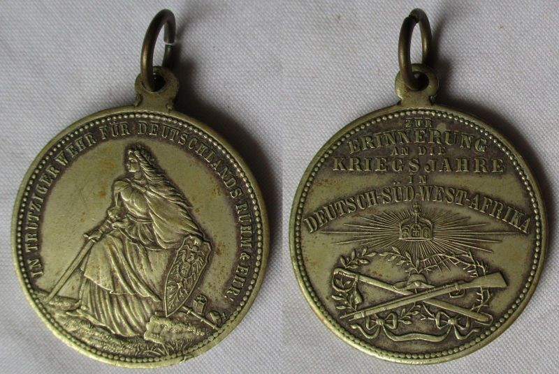 Medaille Zur Erinnerung an die Kriegsjahre in Deutsch Südwestafrika (111405)