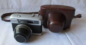 Kamera Werra 2 + Objektiv Carl Zeiss Jena Tessar 2.8/50 Q1 mit Tasche (121892)