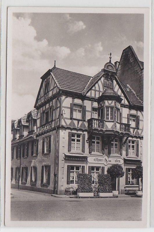 28647 Foto Ak Haslach i.K. (Bad. Schwarzwald) Gasthof zum Raben um 1920