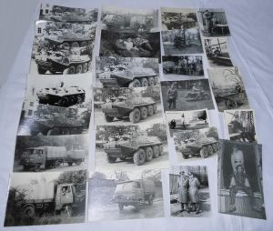 25 seltene Fotos NVA Nationale Volksarmee Panzer usw. (112752)