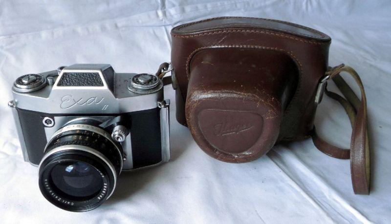 EXA II Objektiv Q1 Flegtogon Carl Zeiss Jena 2,8/35 Spiegelreflexkamera (114368)