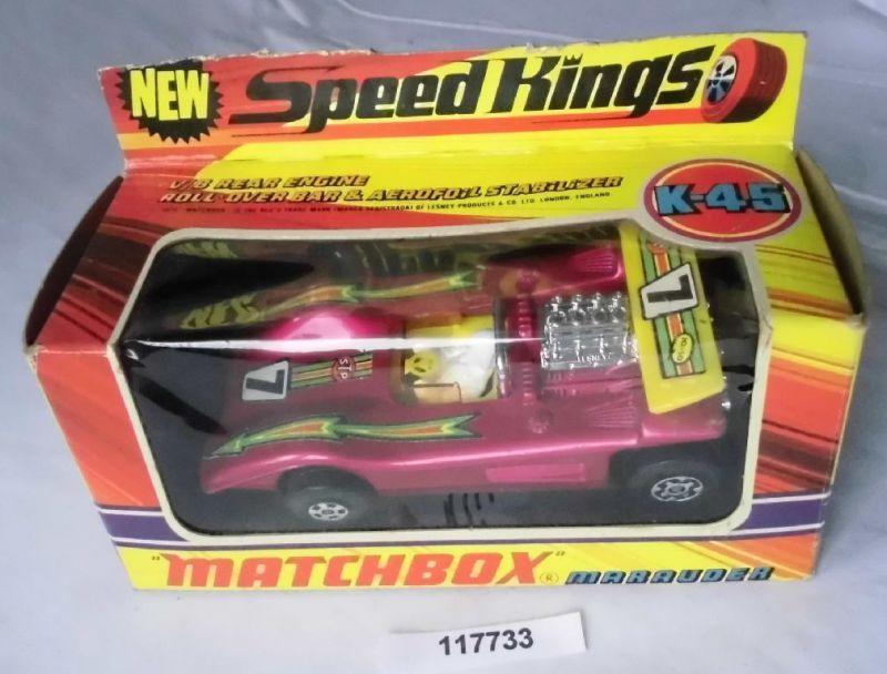 Matchbox Speed Kings Modellauto Marauder im Originalkarton (117733)