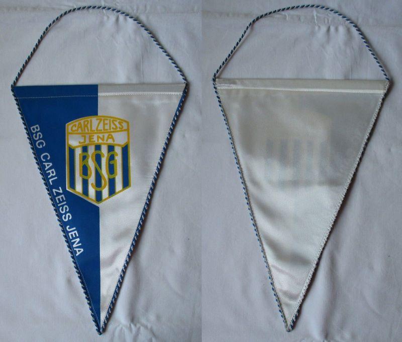 Original DDR Fußball Wimpel BSG Carl Zeiss Jena Oberliga (108370)