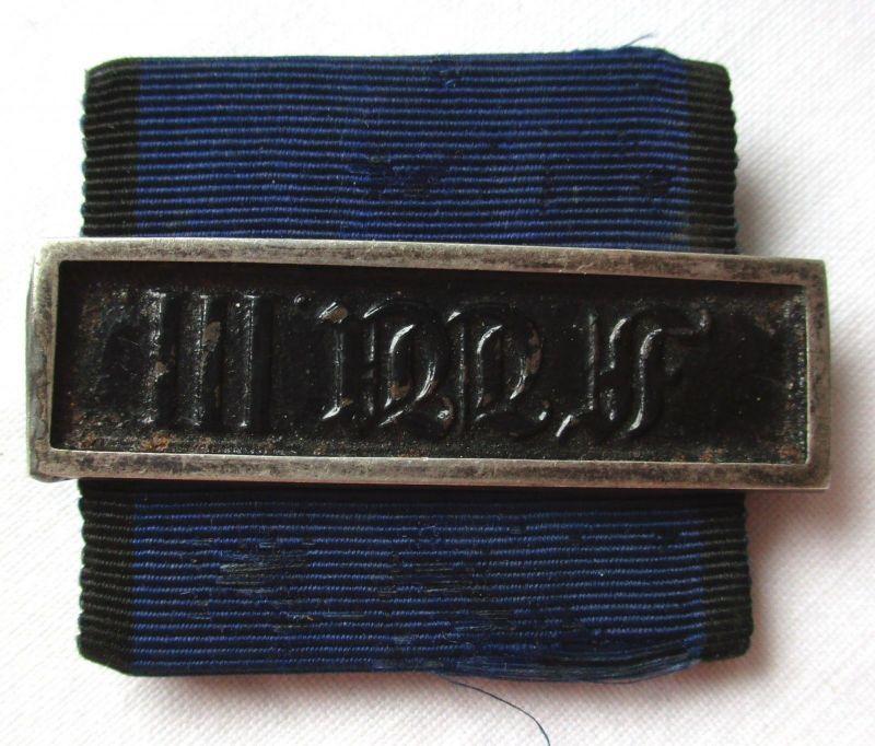 Preußen Dienstauszeichnung 3.Klasse Schnalle F.Wilhelm III vor Weltkrieg /123836