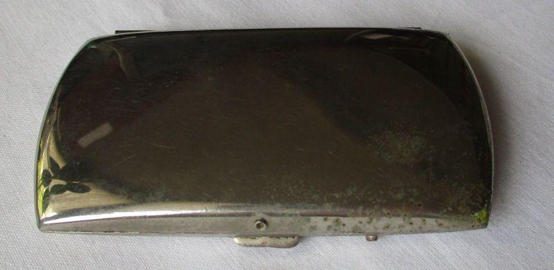 Schöne elegante Zigarettendose Dose / Etui um 1930 (118662)