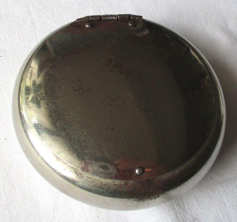 Schöne elegante Schnupftabak Dose / Etui um 1930 (113471)