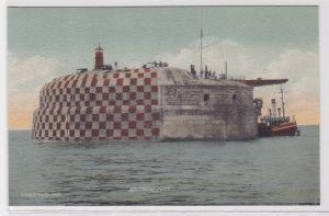 84257 Ak Spithead Fort Spitbank Fort vor Portsmouth 1914