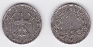 1 Reichsmark Nickel Münze 3.Reich 1935 A Jäger Nr.354 (119445)
