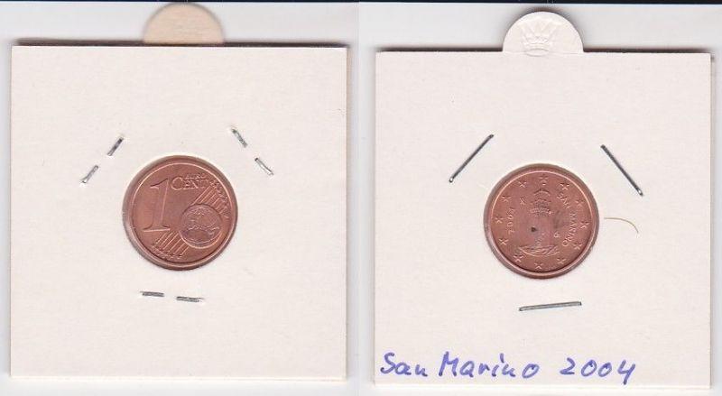 1 Cent Münze San Marino 2004 Festungsturm Montale (125538)