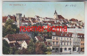 82656 Mehrbild Ak Bad Ronneburg S.-A. Café Central um 1920