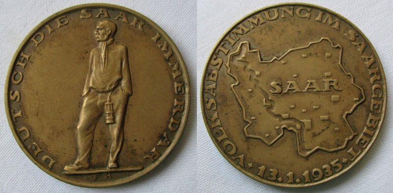 Bronzemedaille Volksabstimmung im Saarland 13. Januar 1935 (126475)