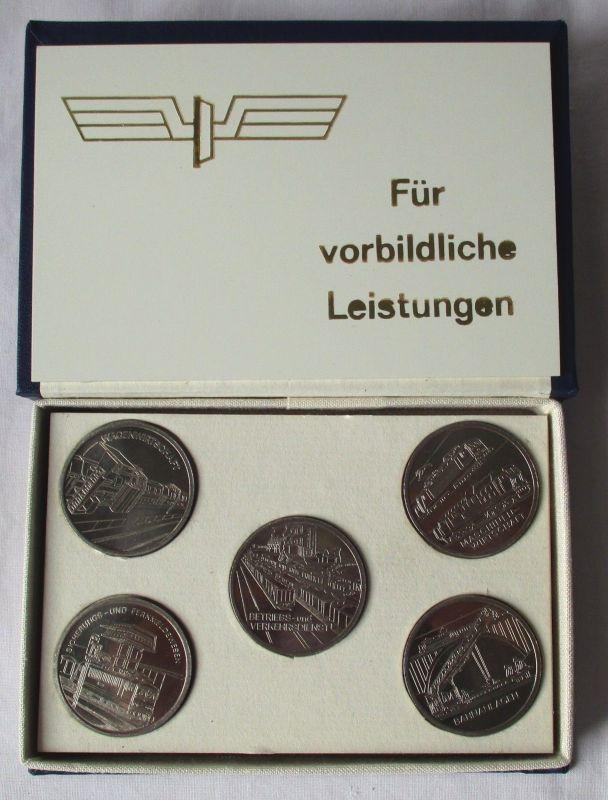 DDR Medaillen für vorbildliche Leistungen Reichsbahndirektion Halle (116141)