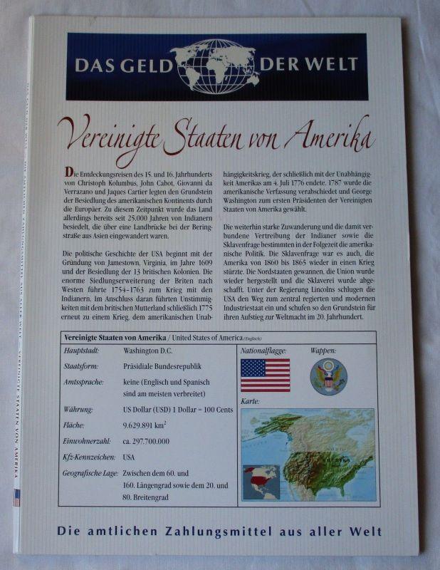 KMS Das Geld der Welt Vereinigte Staaten von Amerika USA 1 Cent - 2 $ (126061)