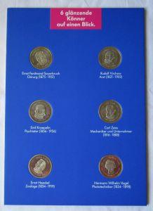 KMS 6 glänzende Könner auf einen Blick - 6 Medaillen ISIS Pharma (126060)