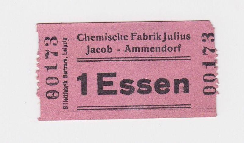 1 Essen Wertmarke Chemische Fabrik Julius Jacob Ammendorf o.D. (1948) (126545)