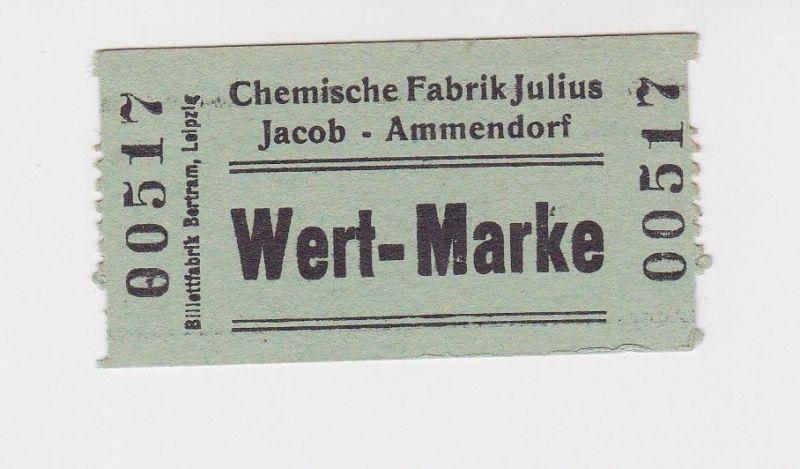 Wertmarke Chemische Fabrik Julius Jacob Ammendorf o.D. (1948) (126088)