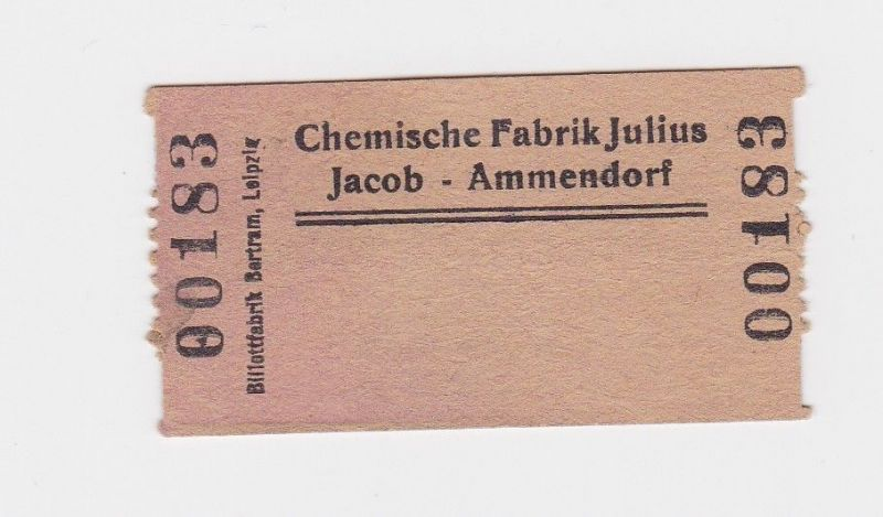Wertmarke Chemische Fabrik Julius Jacob Ammendorf o.D. (1948) (126538)