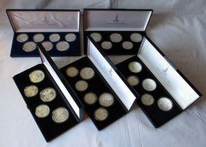 XXII OLYMPIAD MOSCOW 1980 SAMMLUNG 28 x Münzen (126242)