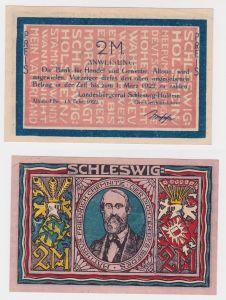 2 Mark Banknote Landesbürgerrat Altona Elbe 15.Februar 1922 (126234)