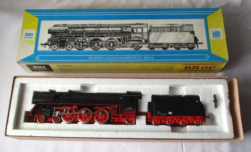 PIKO H0 5/6327 Dampflok BR 01 Deutsche Reichsbahn OVP Made in GDR DDR (114577)
