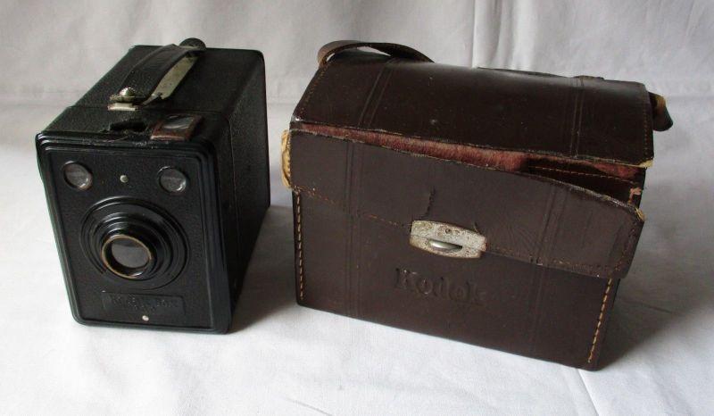Foto-Kamera Kodak Box 620 mit Tasche (115923)