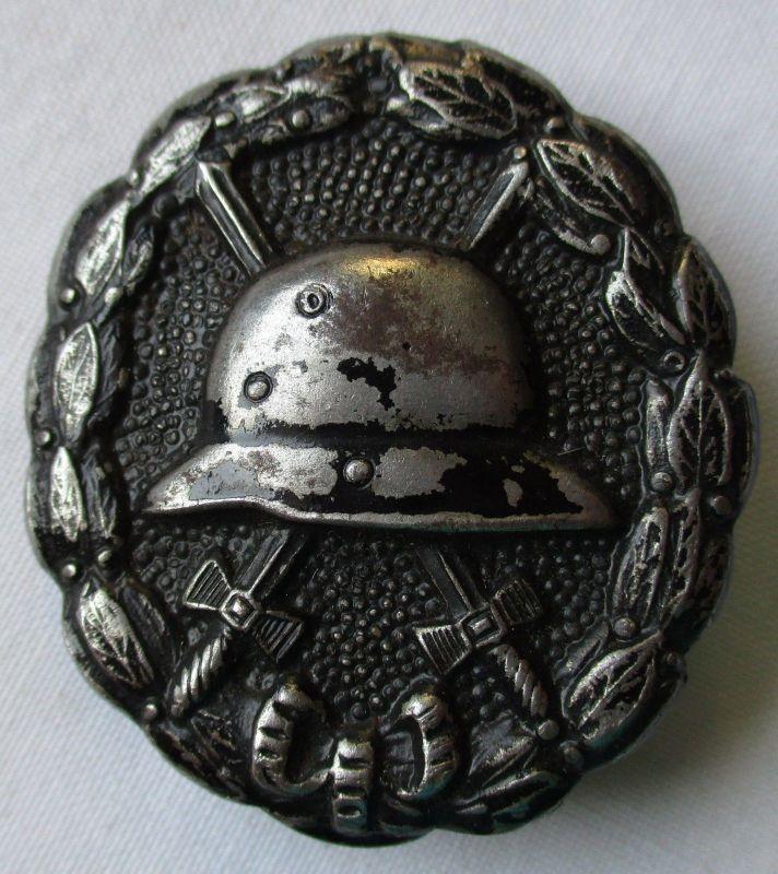 Verwundetenabzeichen Eisen geschwärzt für Heer & Kolonialtruppen (124847)