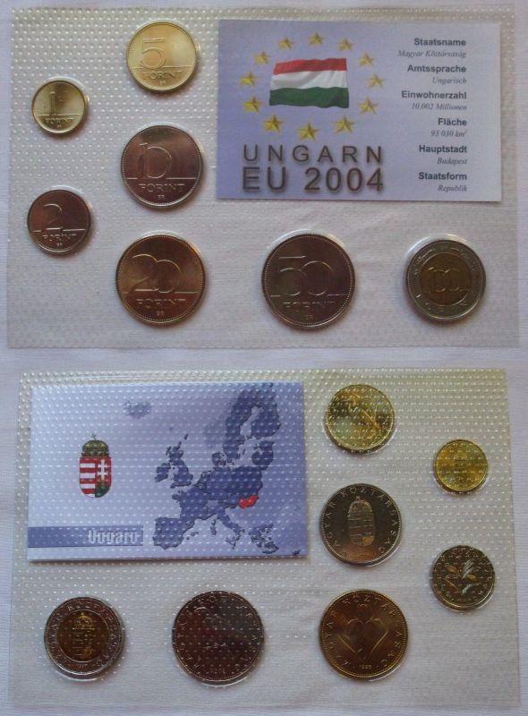 Kursmünzsatz Ungarn 7 Münzen 1 100 Forint Im Blister 126199 Nr