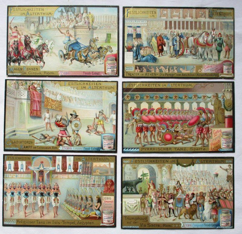 Liebigbilder Serie Nr. 528 Festlichkeiten im Mittelalter 1902 (5/125612)