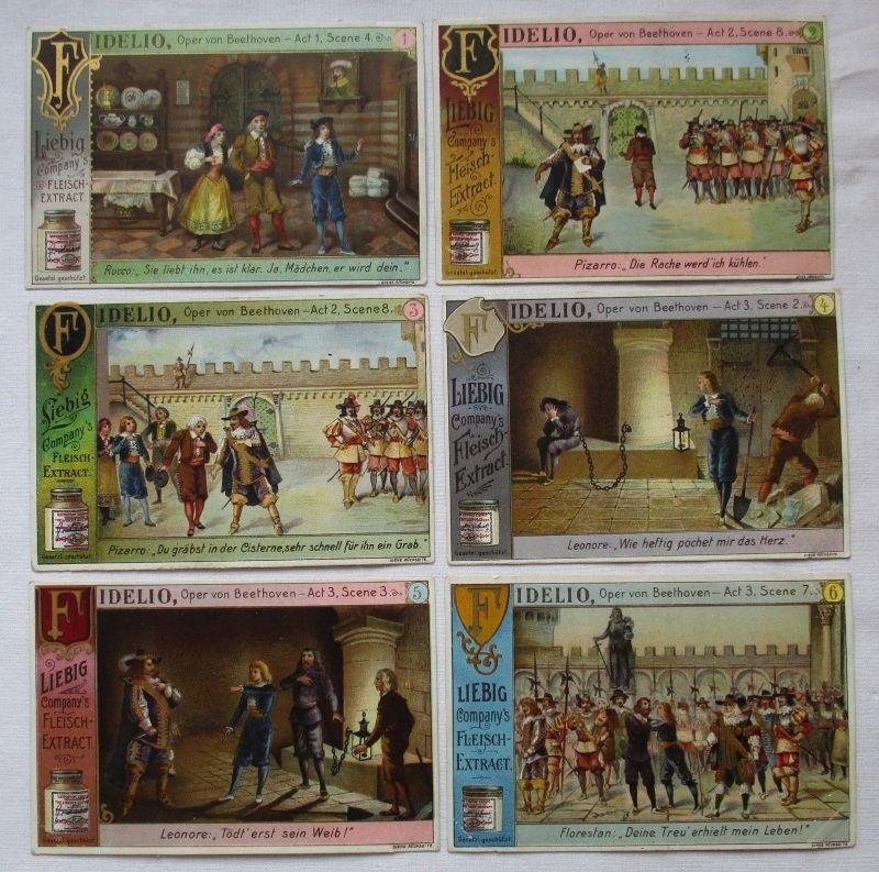 Liebigbilder Serie Nr. 529 Fidelio (Oper von Beethoven) 1902 (5/125640)