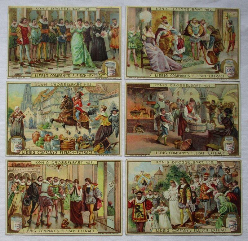Liebigbilder Serie Nr. 536 König Drosselbart 1902 (5/125607)