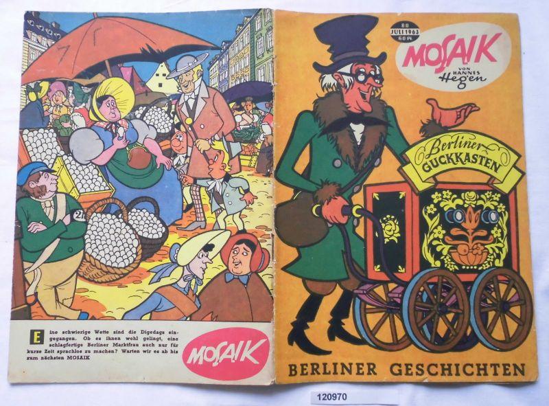 Mosaik von Hannes Hegen Digedag Nummer 80 von 1963 (120970)