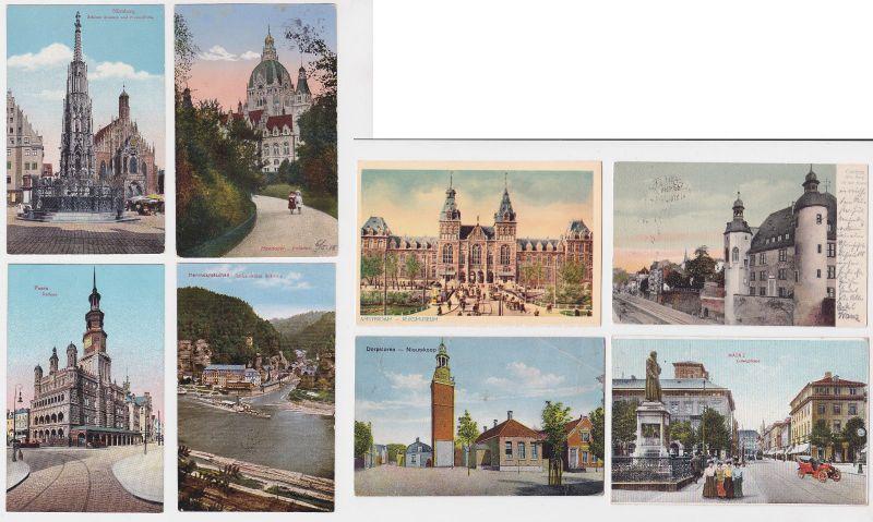 100 interessante alte Ansichtskarten um 1910-1940 (A) (17738)