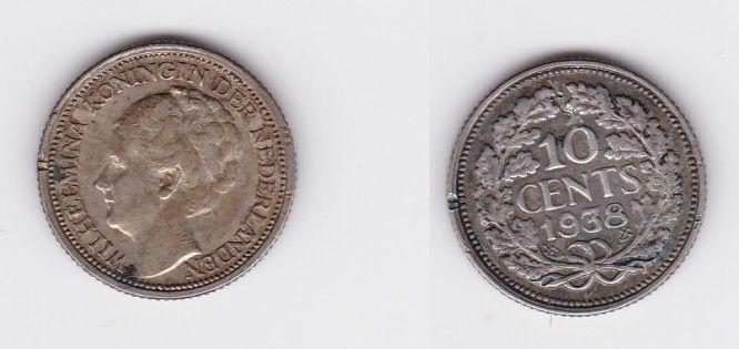 Armband Aus 10 Cent Stücken Von 1917 Niederlande Silber Grabenarbeit