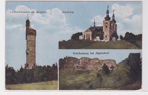 82853 Mehrbild Ak Schellenberg bei Jägerndorf in Schlesien 1927
